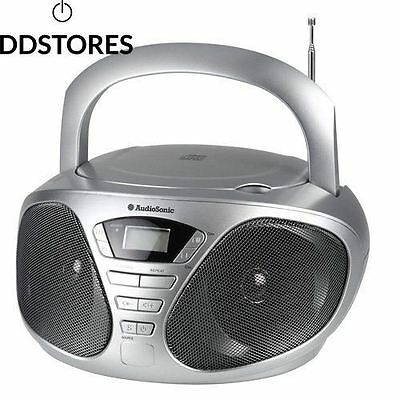 Audiosonic CD 1569 Radio réveil Lecteur MP3