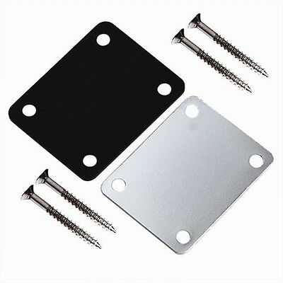 Durable Brand New Electric Guitar Neck Plate High Quality Four Mounting Screws