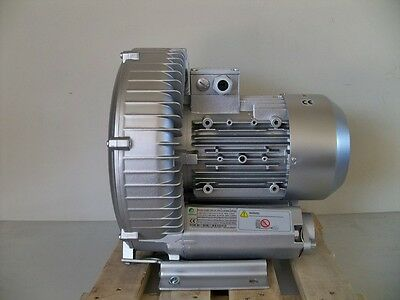 "REGENERATIVE BLOWER  3.4 HP  185 CFM  92"" H2O Max press"
