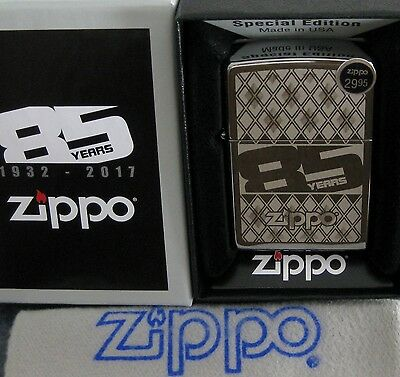 ZIPPO  85TH ANNIVERSARY Lighter SPECIAL EDITION 85 Years MIB New Old Stock