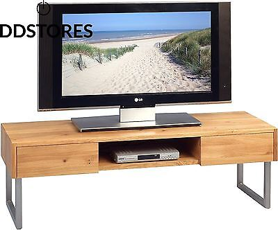 HomeTrends4You 353722 Banc TV bois chêne 120 x 40 cm