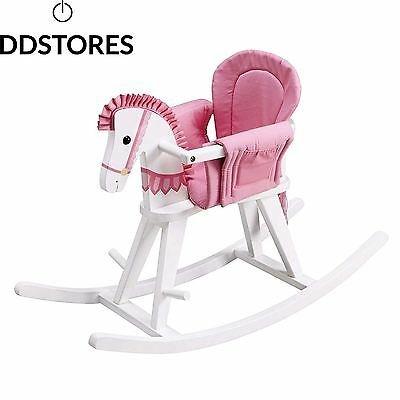 Primary Products Ltd Bascule Teamson Kids Safari Blanc Rocking Horse avec...
