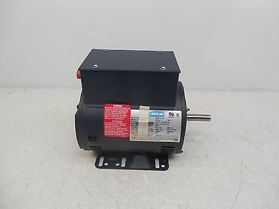 Leeson 2Hp Single Phase 3450 Rpm Air Compressor Duty Electric Motor