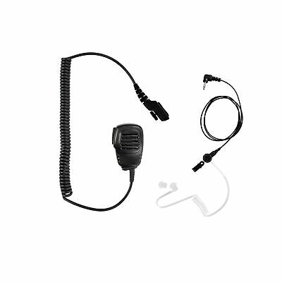 Listen only Earpiece with Speaker Mic for Hytera HYT PD700 PD700G PD702G PD780