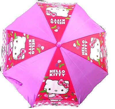 "Party Favors Licensed Sanrio Hello Kitty 21"" Stars Umbrella w/3D Handle"