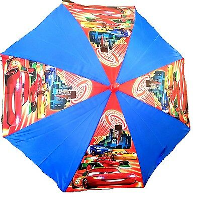 "NEW 2017 Disney Cars 3 ""World Grand Prix"" Umbrella - blue, one size"