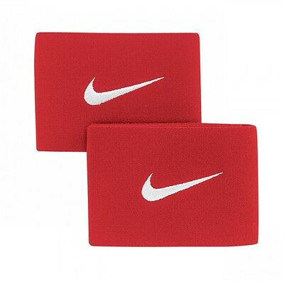 Guard Stays Set - Nike - Varsity Red- Brand New/ Packaged 2 Stays In Each Set