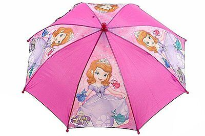 "Licensed Disney Ready To Be A Princess Sofia the First Girls 21"" Umbrella Handle"
