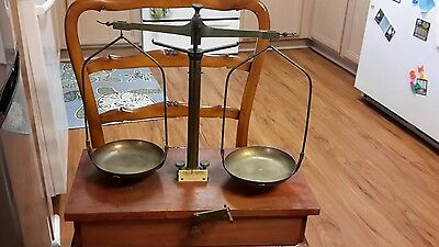 antique H. KOHLBUSCH BALANCE SCALE