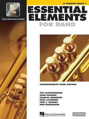 Essential Elements for Band - Bb Trumpet Book 1 - EE Interactive - Hal Leonar...