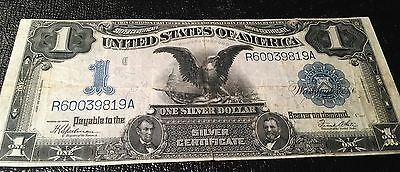 1899 $1 Silver Certificate Black Eagle VF