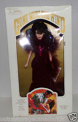 1989 Gone With The Wind Scarlett Limited Edition Collectible World Doll  NEW