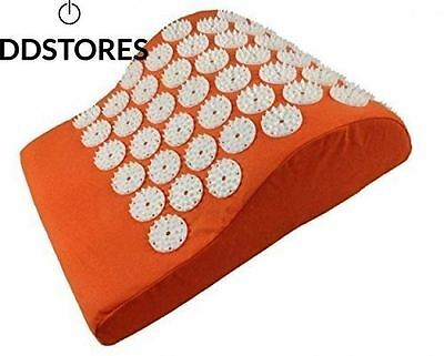 Matelas d acupressure Lit de Clous Orange acupuncture Vital relaxation