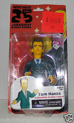 Neca The Simpsons 25 Of The Greatest Guest Stars Tom Hanks Figure Series One