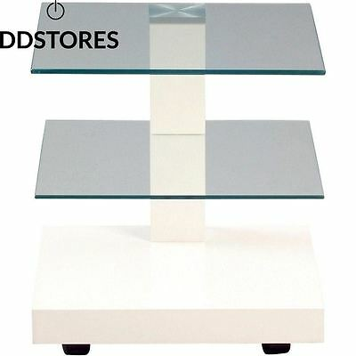 HomeTrends4You 554026 table d appoint 40 x 43 cm blanc mat