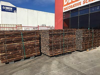 Bamboo Fencing / Screening Panels 1.0 x 2.0m $38.00 each