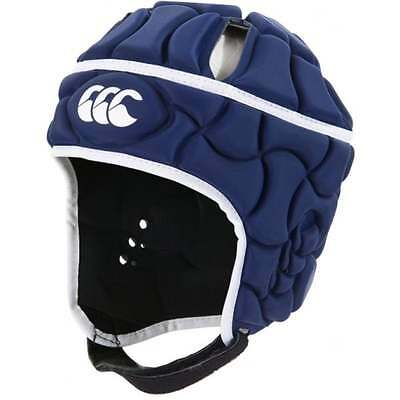 Canterbury Club Plus Rugby Youths Headgear - NAVY + FREE AUS DELIVERY