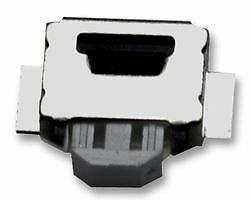 TACTILE SWITCH, SIDE ACTUATED, SMD B3U-3000P-B SW04435 Pk of 5 By OMRON