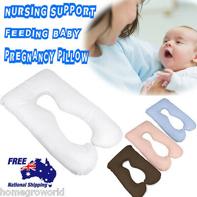 Maternity Pillow Pregnancy Nursing Sleeping Feeding Body Support Boyfriend Baby