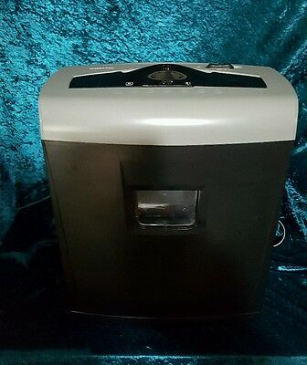 AURORA OFFICE Brand 8-Page Crosscut Light Duty Shredder with Canister # WM845XE
