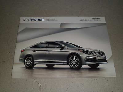 2015 HYUNDAI SONATA  Sales Brochure Color NEW!!!!!!
