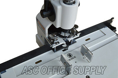"""Document Hole Drill Punch Machine 1/4"""" 6mm 300 Sheets Brand New"""