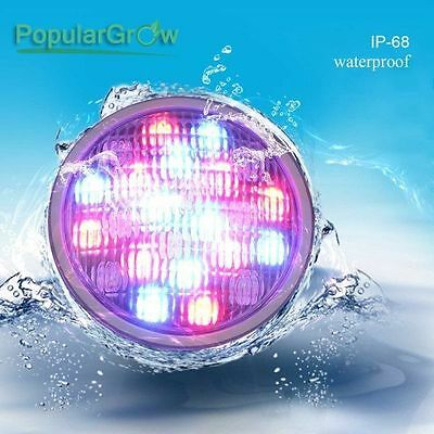 Romete Control IP68 Stainless Par56 RGB 54W Led Underwater Swimming Pool Light