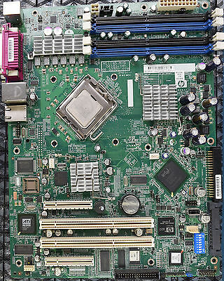 HP Proliant ML310 G4 system board 432473-001 419643-001 +3.4 GHz CPU + 4 GB RAM