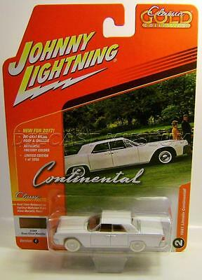 1961 '61 Lincoln Continental Johnny Wl White Lightning Chase Car 1 Of 25 Rare