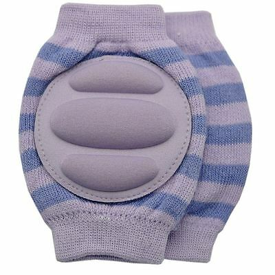 Baby Crawling Knee Pad Toddler Elbow Pads 805519 Purple-blue