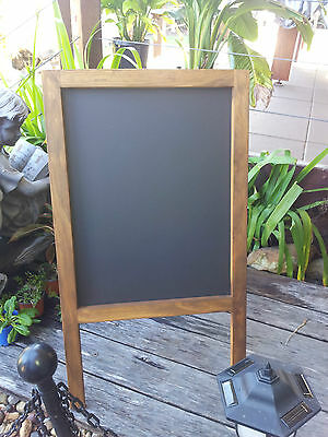 Free Standing Chalkboard Blackboard Weddings Restaurants Cafes Menus Events Shop