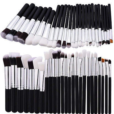 25pcs Pro Makeup Cosmetic Eyeshadow Brushes Set Powder Foundation Lip Brush Tool