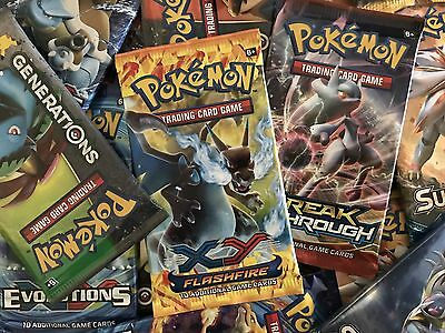 2 x Random Booster Pack – New Sealed Booster – Pokemon TCG – New Burning Shadows