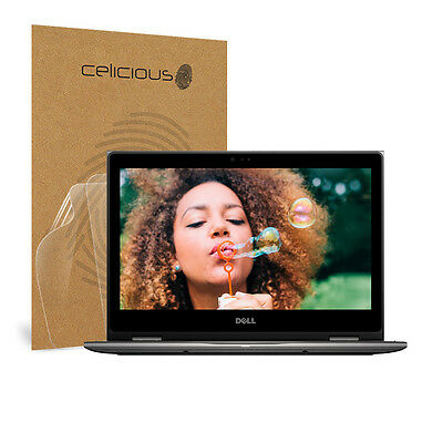 Celicious Vivid Dell Inspiron 13 5378 Invisible Screen Protector [Pack of 2]