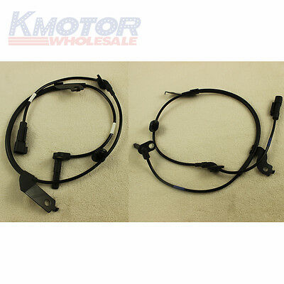 Front Left & Right ABS Wheel Speed Sensor Set 2 For Mitsubishi Outlander Lancer
