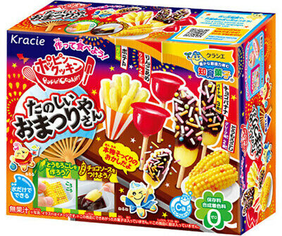 KRACIE POPIN COOKIN FUN FESTIVAL KIT DIY Japanese Candy Poppin Toffee Apple Corn