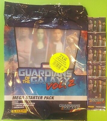 Panini Guardians of the Galaxy Vol.2 Trading Cards - Starter Set + 5 Booster
