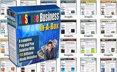 155 Optimised and Upload Ready Adsense Niche Websites with Full Resell Rights