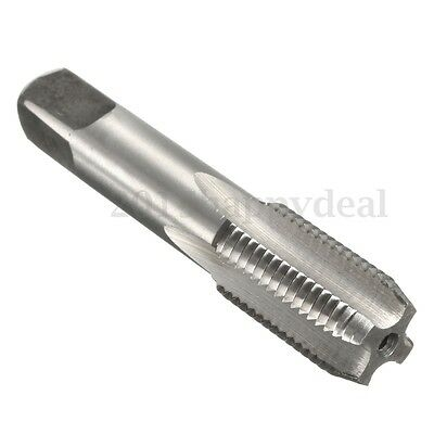 "UK G1/4-19 1/4"" BSP 55° High Speed HSS 13X2MM Piping Pipe Thread Plug Tap Tool"