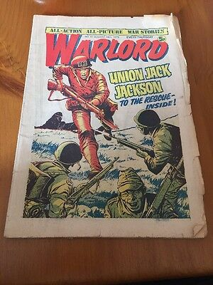 WARLORD Comic - Issue 47 Date 16th Aug 1975 - UK Paper Comic D C Thomson. Torn
