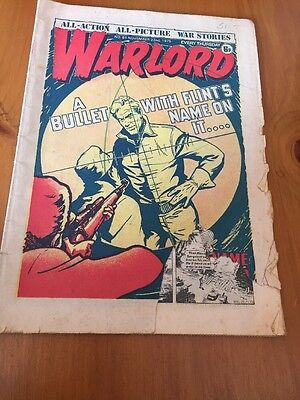 WARLORD  Issue 61 Date 22nd Nov 1975 - UK Paper Comic D C Thomson. Torn Corner