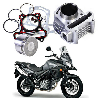 Fit for Scooter Moped GY6 50 60 80 139QMB 47mm Big Bore Cylinder Piston Rings