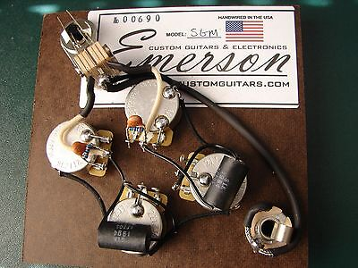 Emerson Custom SG Modern Series Prewired Assembly