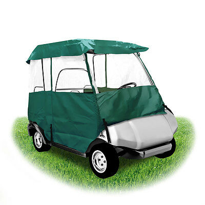 "Pyle PCVGCE36 Armor Shield Deluxe 4 Sided Golf Cart Enclosure 2 Passenger 66"" L"