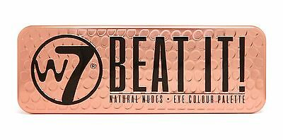 W7 Makeup Make Up Eye Shadow Palette Naked Nude Natural Shades - Beat It