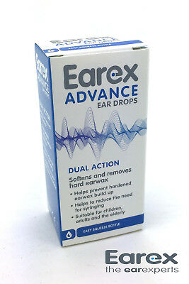 Earex Advance Ear Wax Removal Drops With Dual Action - 15ml 1 - 8 units (carton)