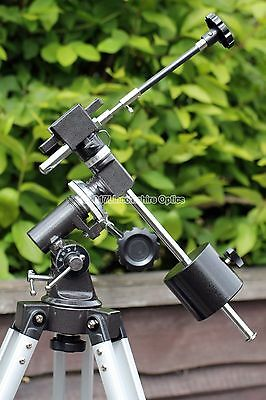 Skywatcher EQ1 equatorial telescope mount with slow motion controls. UK stock
