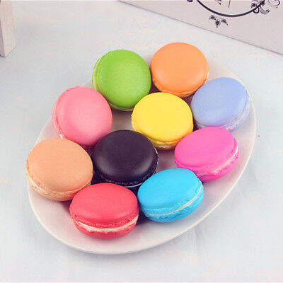 Simulation Macaron Food Squishy Super Slow Rising Kid Toy Decompression Toys NEW