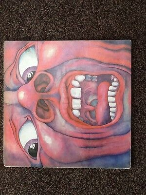 King Crimson In The Court Of The Crimson King Vinyl Lp First Press Pink Label