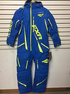 Fxr Maverick Monosuit Snowmobile Women's Insulated Blue/hi-Vis